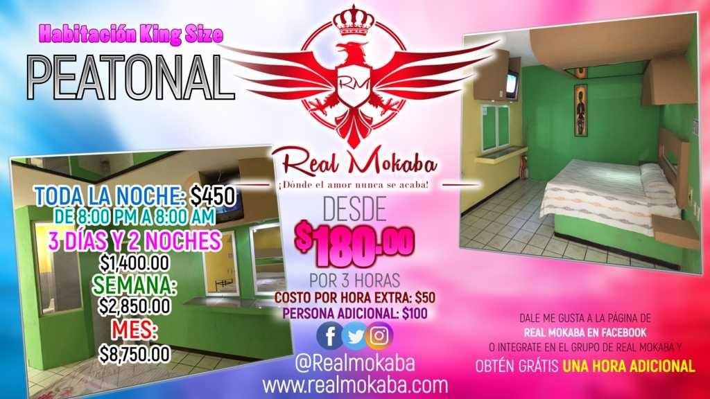 Real Mokaba - Promocion King size