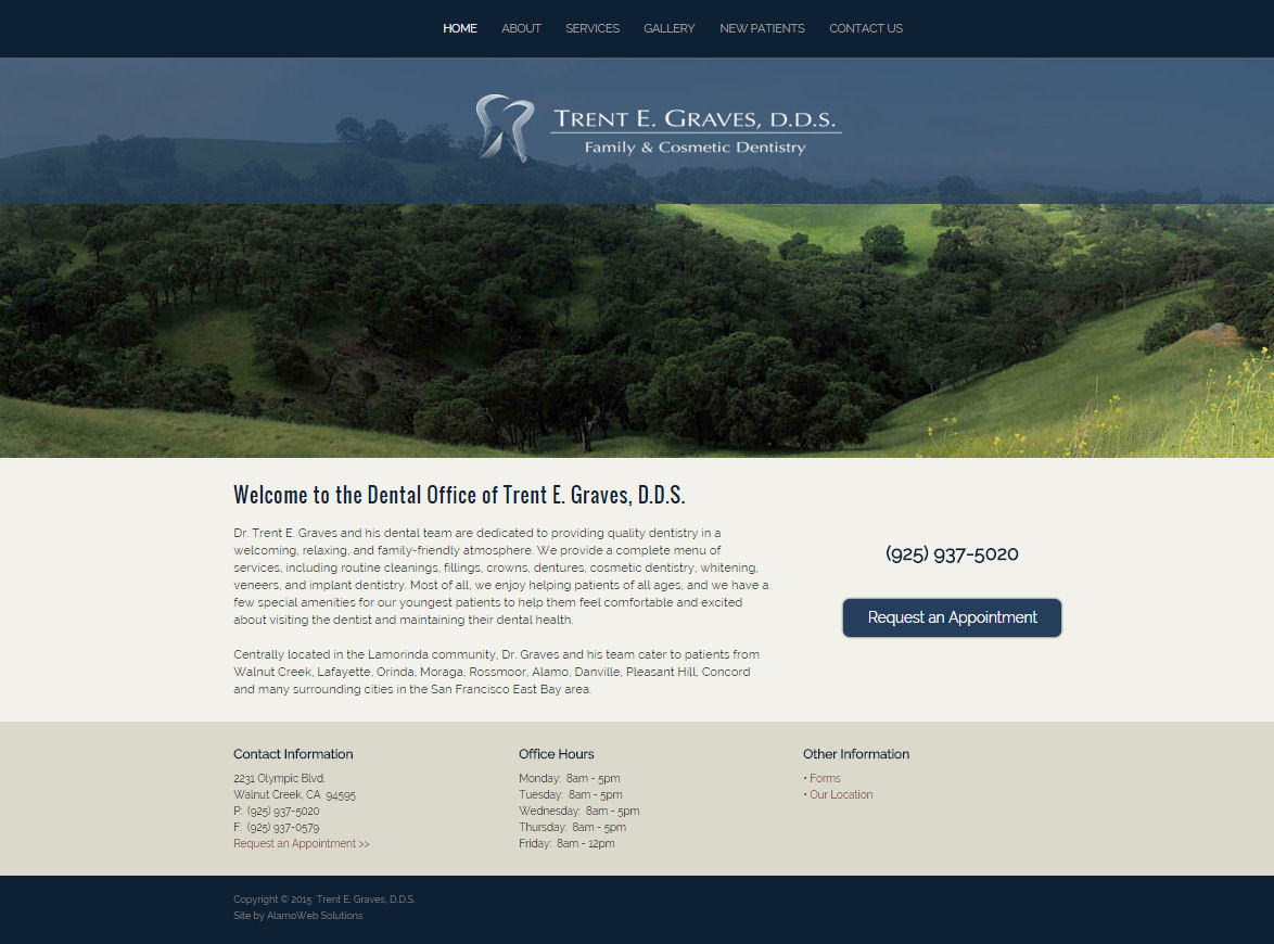 Trent E. Graves, DDS Website
