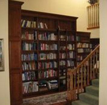 Wooden Bookshelf 1