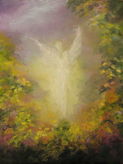 "Angel II -  6""x8"" Oil on Canvas"
