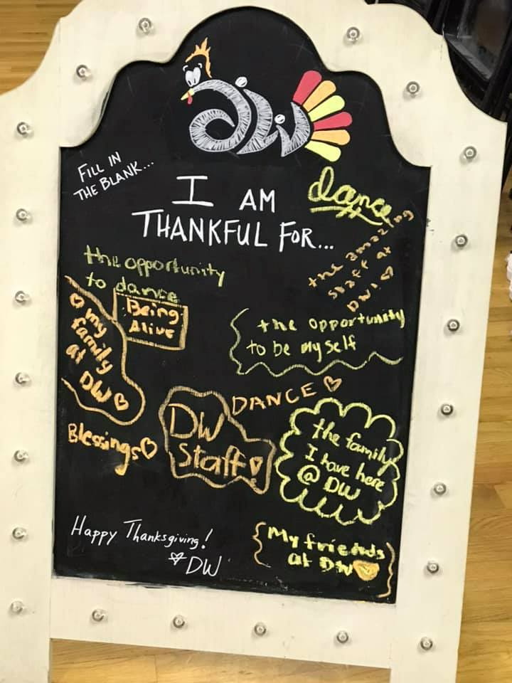 Happy Thanksgiving from DW!