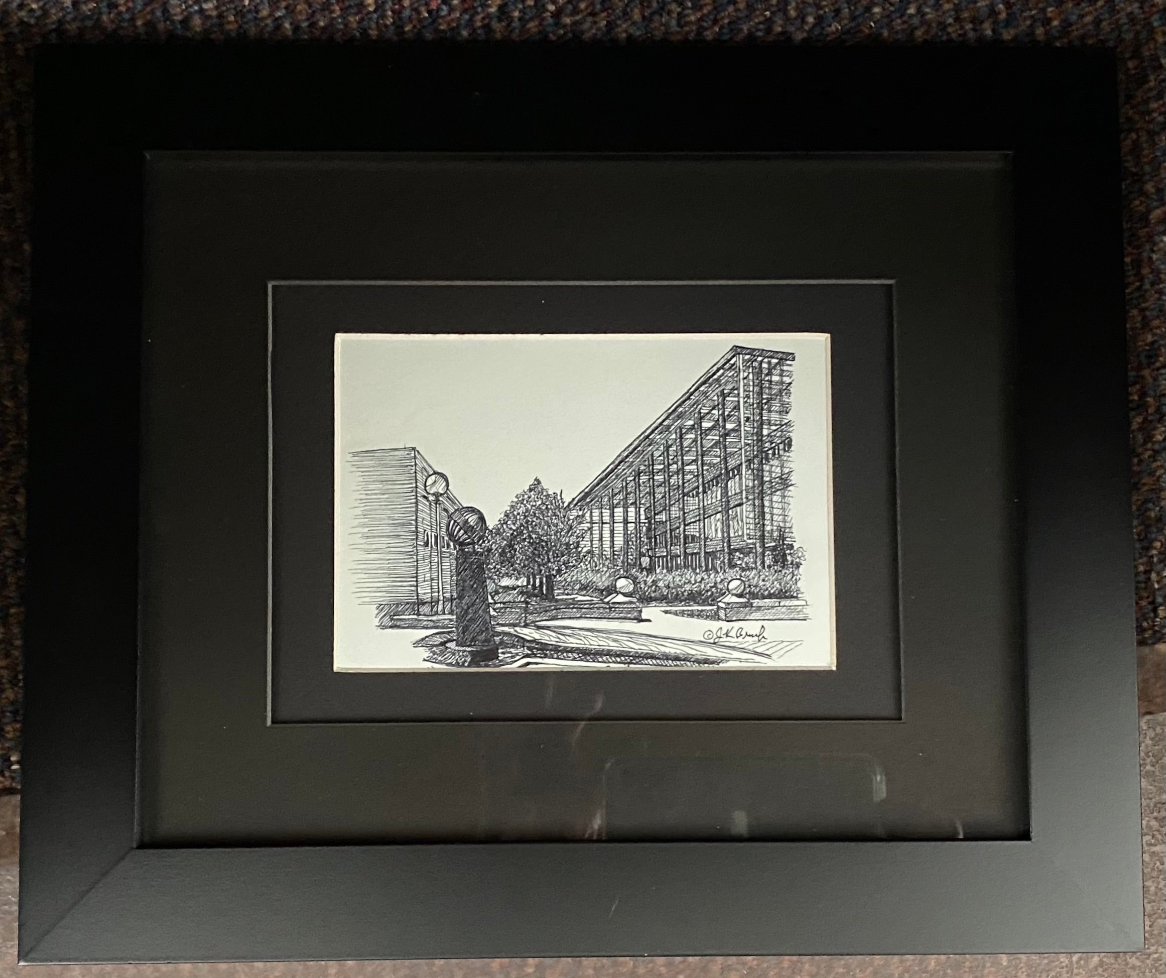 "ECE Building ink 7"" X 41/2"" $90"