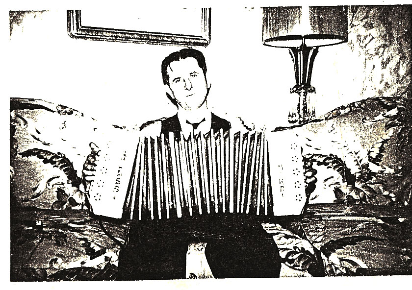 Johnny Mika and his Glass Concertina