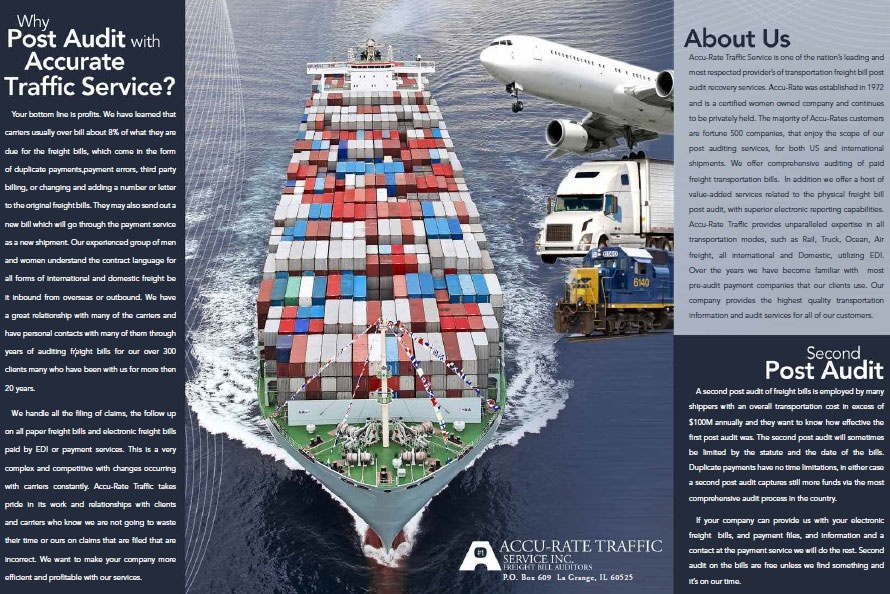 Freight Post Audit Company Brochure