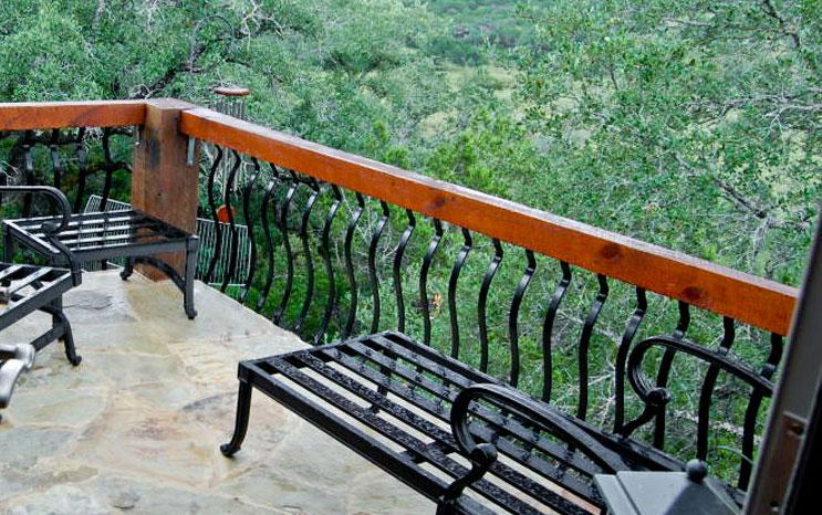 Elegant Balcony Area