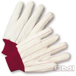 16 White Red Gloves