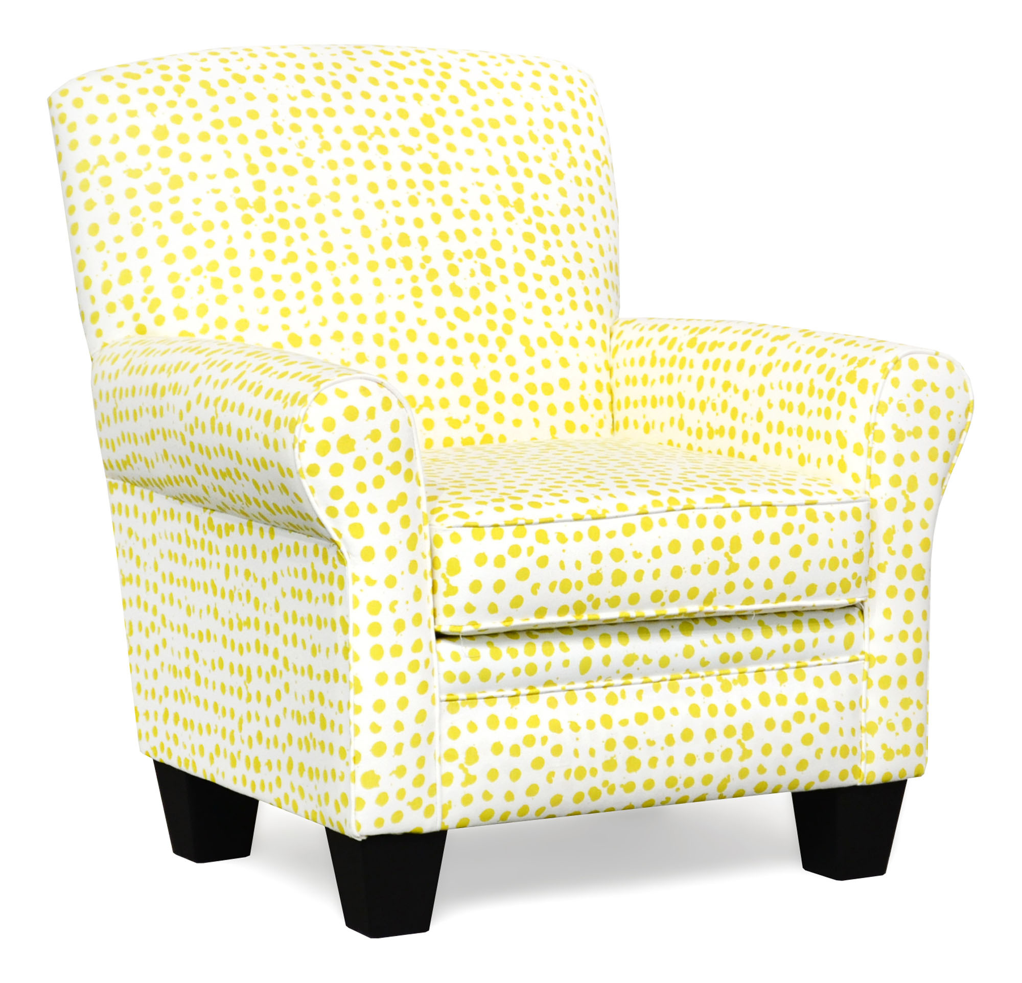 500 Quinn Sunglow Accent Chair