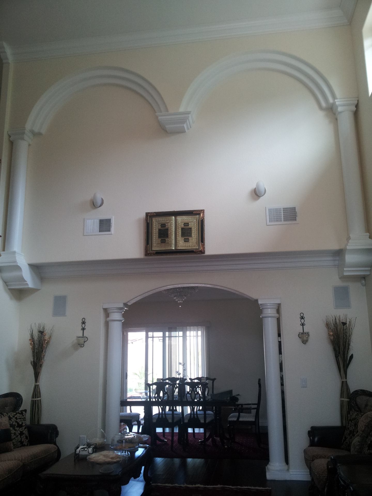 Interior Arch with Columns