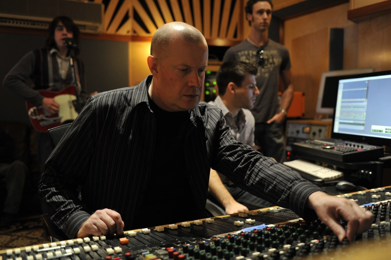 Producer Brian Coombes