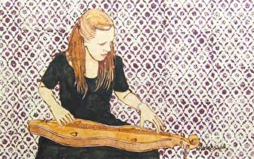"""""""Dulcimer Reverie"""" by Annabelle Meacham"""