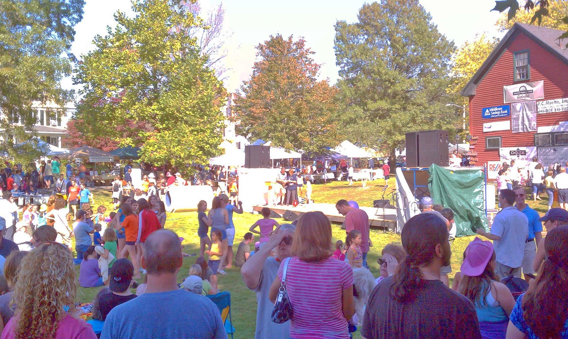 Grotonfest Spectators