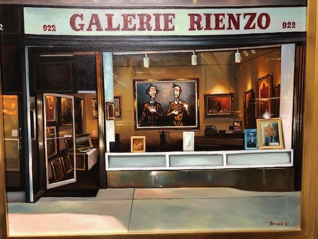 Galerie Rienzo By Russian Artist Dvornik 1993