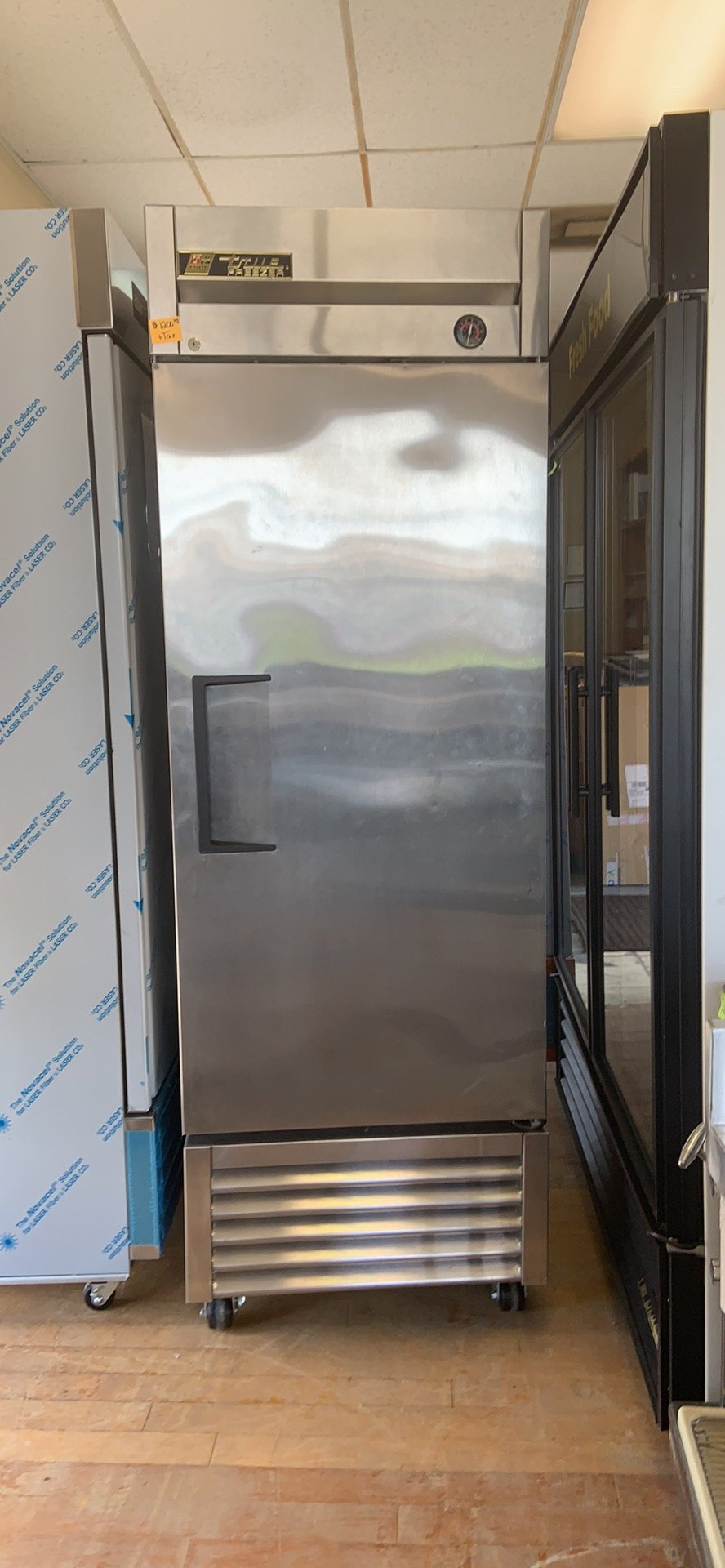 Used True 1 Door Reach In Freezer  Model # T-27F $ 1200.00