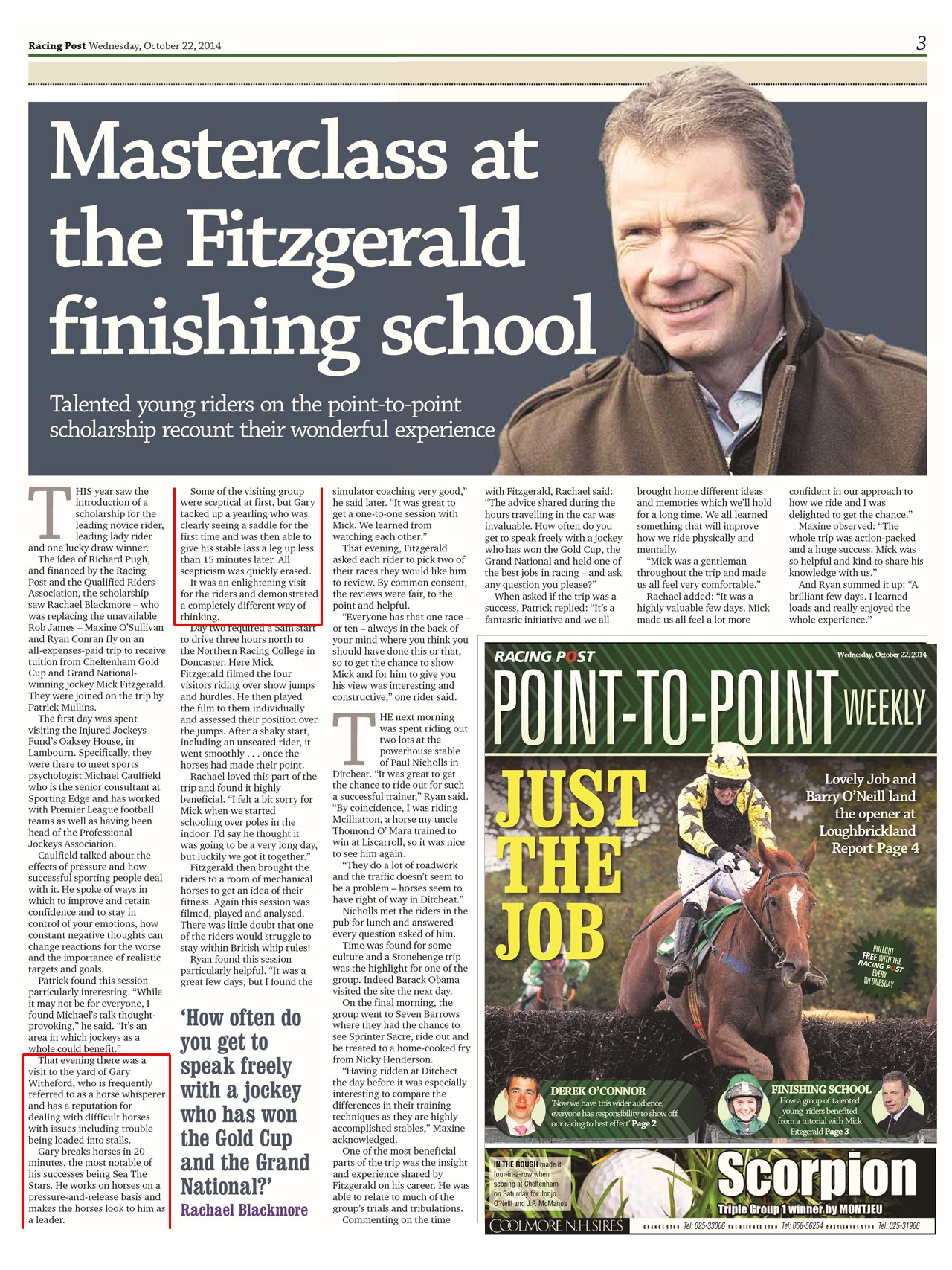 October 2014 - Racing Post