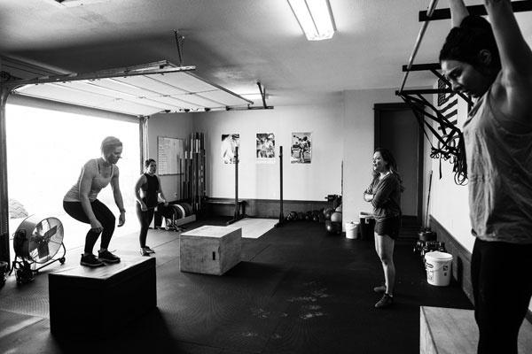 Romwod stretching routines the garage gym