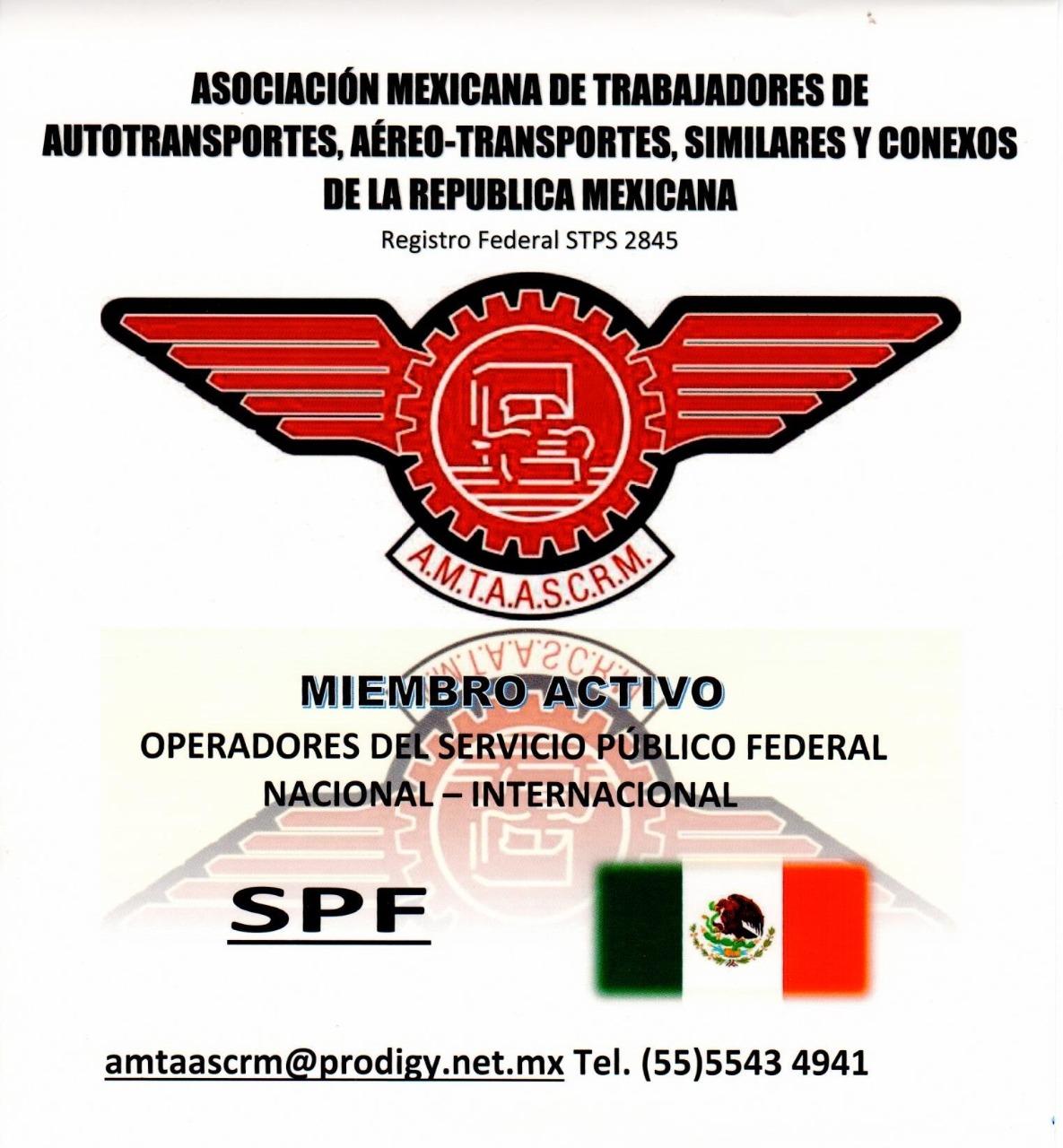 ASOCIACIÓN MEXICANA DE TRABAJADORES DE AUTOTRANSPORTES, AÉREO-TRANSPORTES, SIMILARES Y CONEXOS DE LA REPÚBLICA MEXICANA