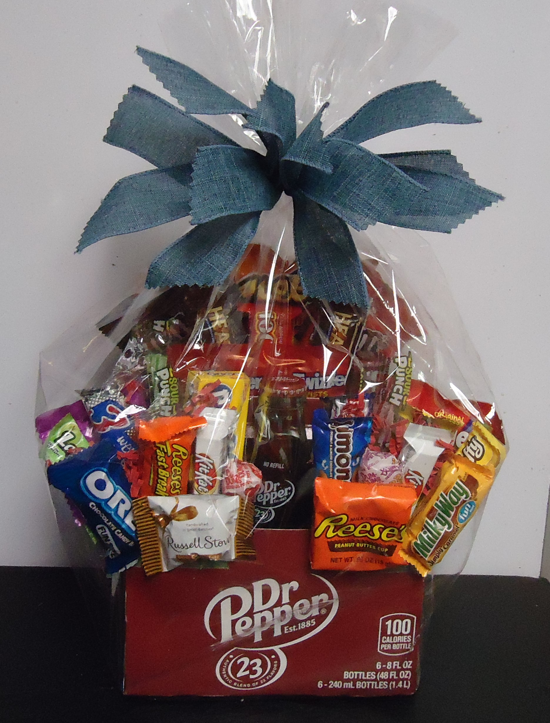 """(27)  """"Dr Pepper"""" Drink Box  W/ Candy $35.00"""