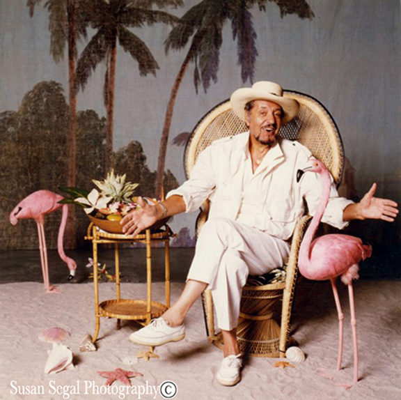 "Herb Jeffries - Singer/Composer/Actor - ""A Pink Flamingo"" - Los Angeles"