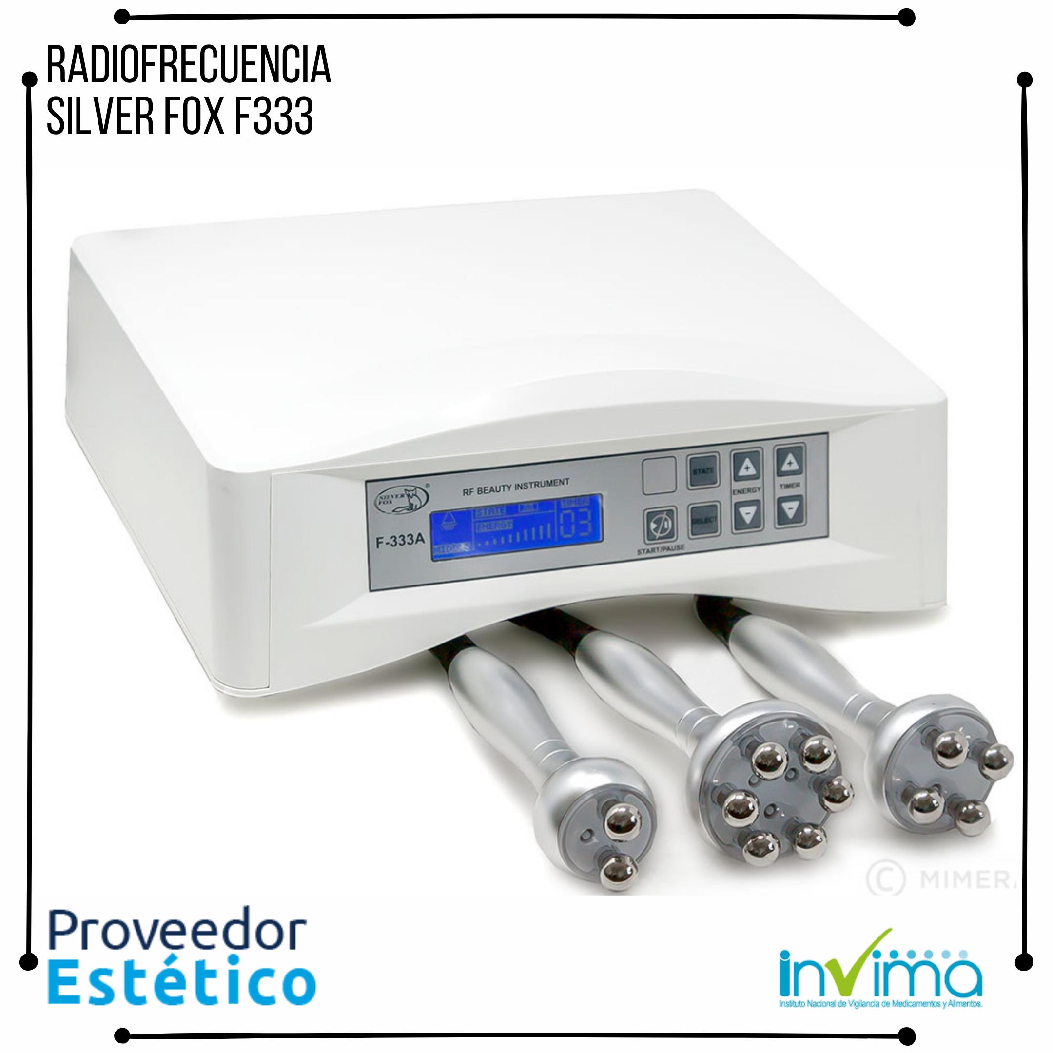 Radiofrecuencia Profesional Silver Fox