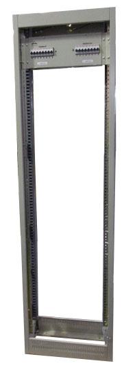 Rack ETSI con panel de alimentación