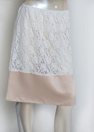 Violeta Style A-Line Skirt Length Extender Slip