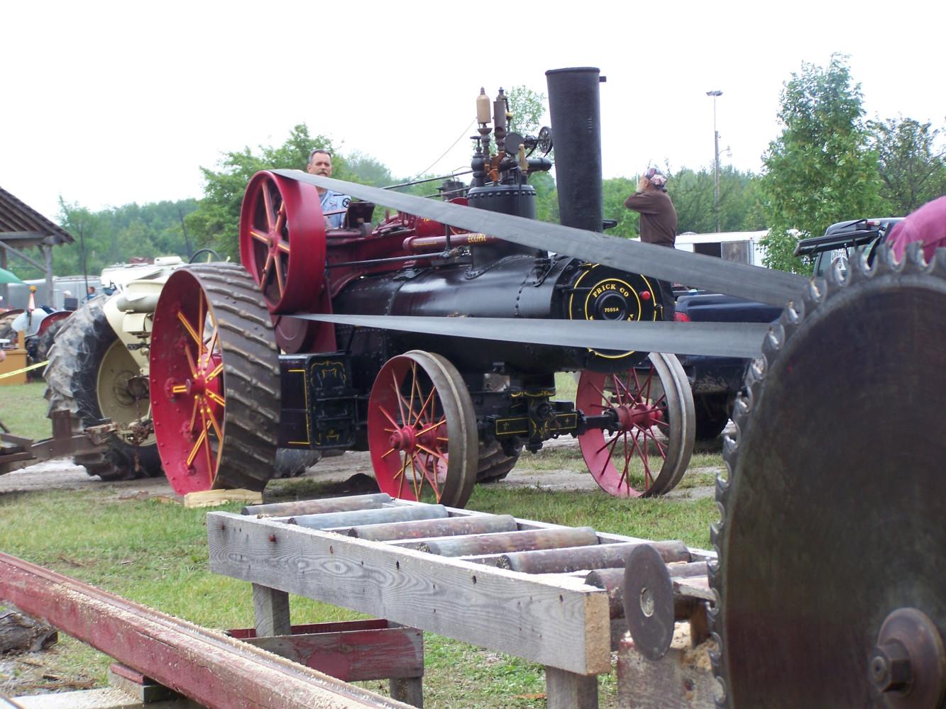 Del's Frick on sawmill