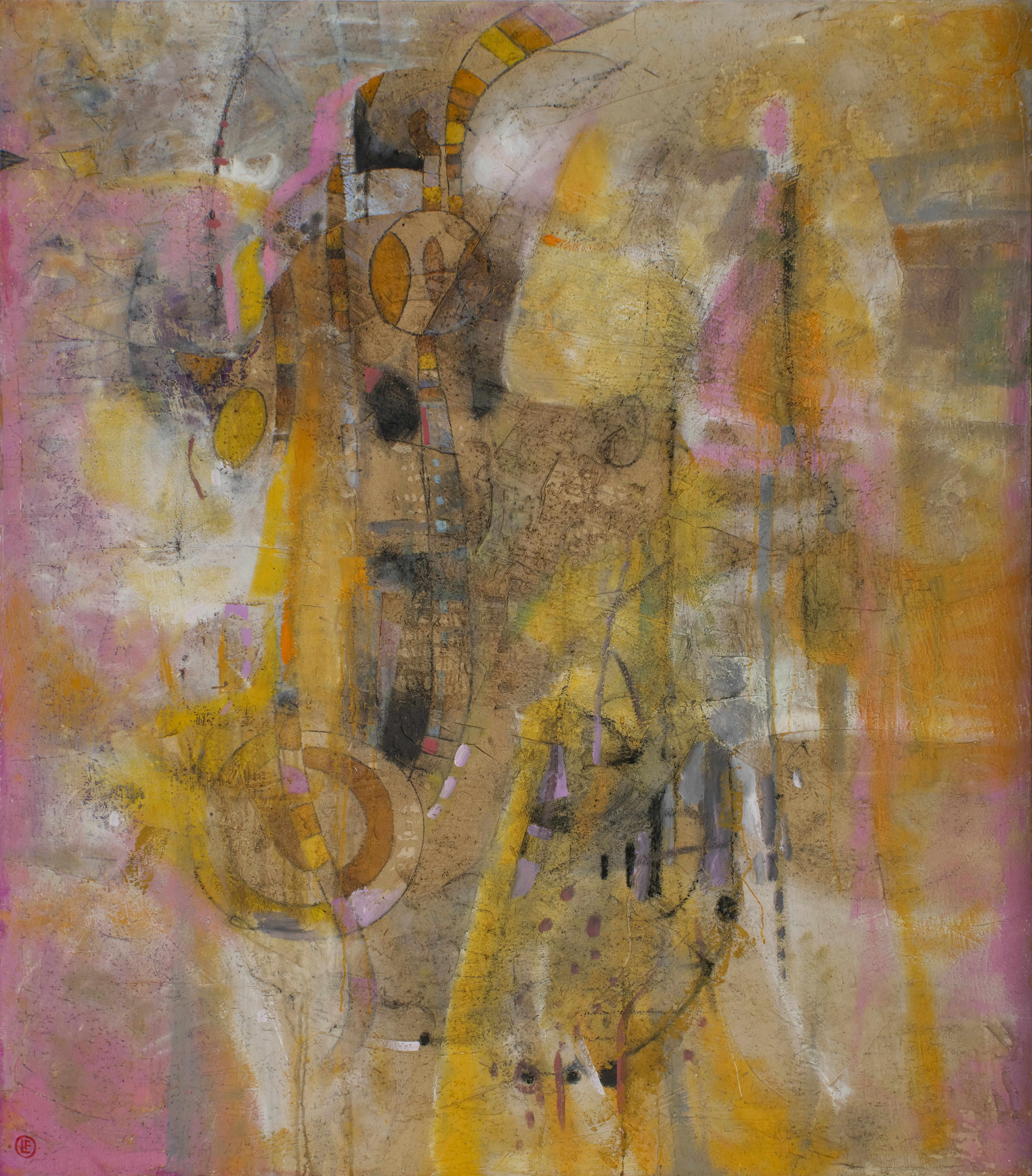 Andrómeda óleo s/tela 200 x  170 cms. / 79 x 67 inches