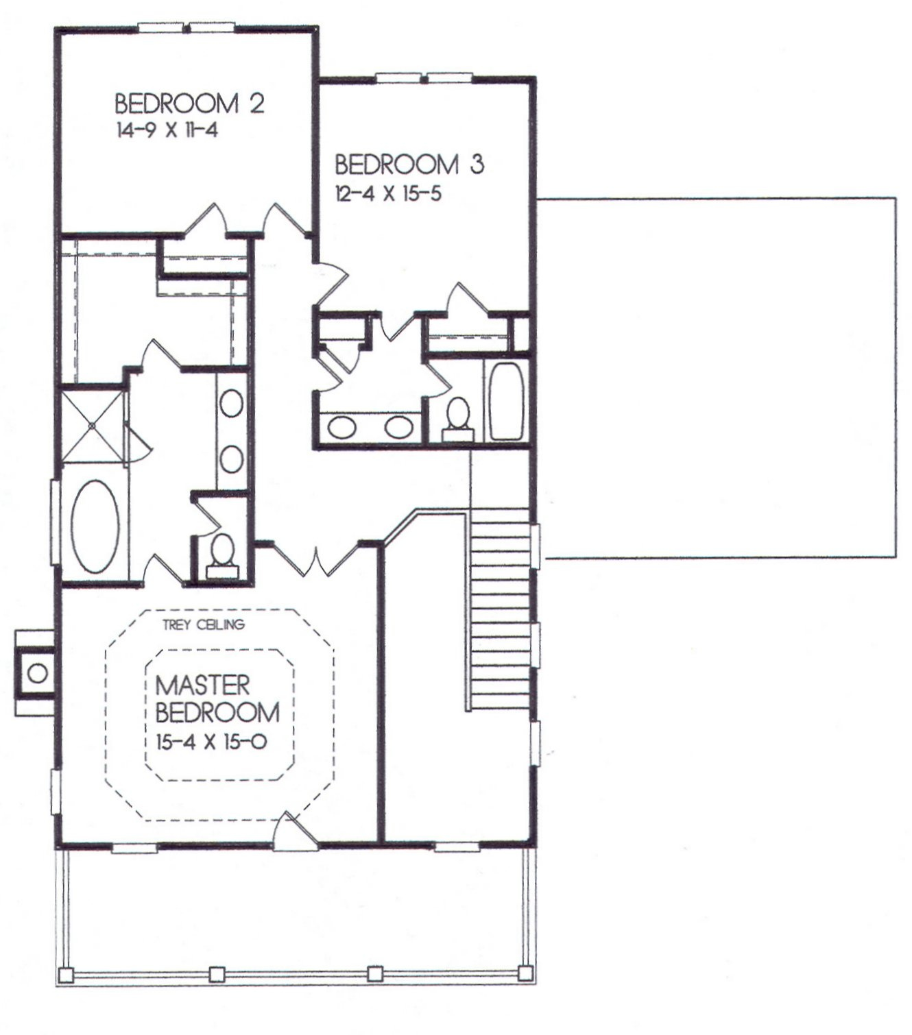 24-42 second floor plan