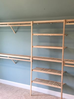 Light Brown Ventilated Shelving