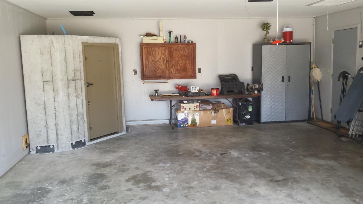 Safe Room in Garage