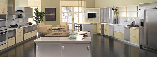 Bamboo Wood Kitchen