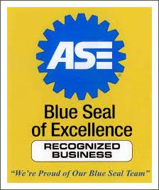 Blue Seal of Excellence logo||||