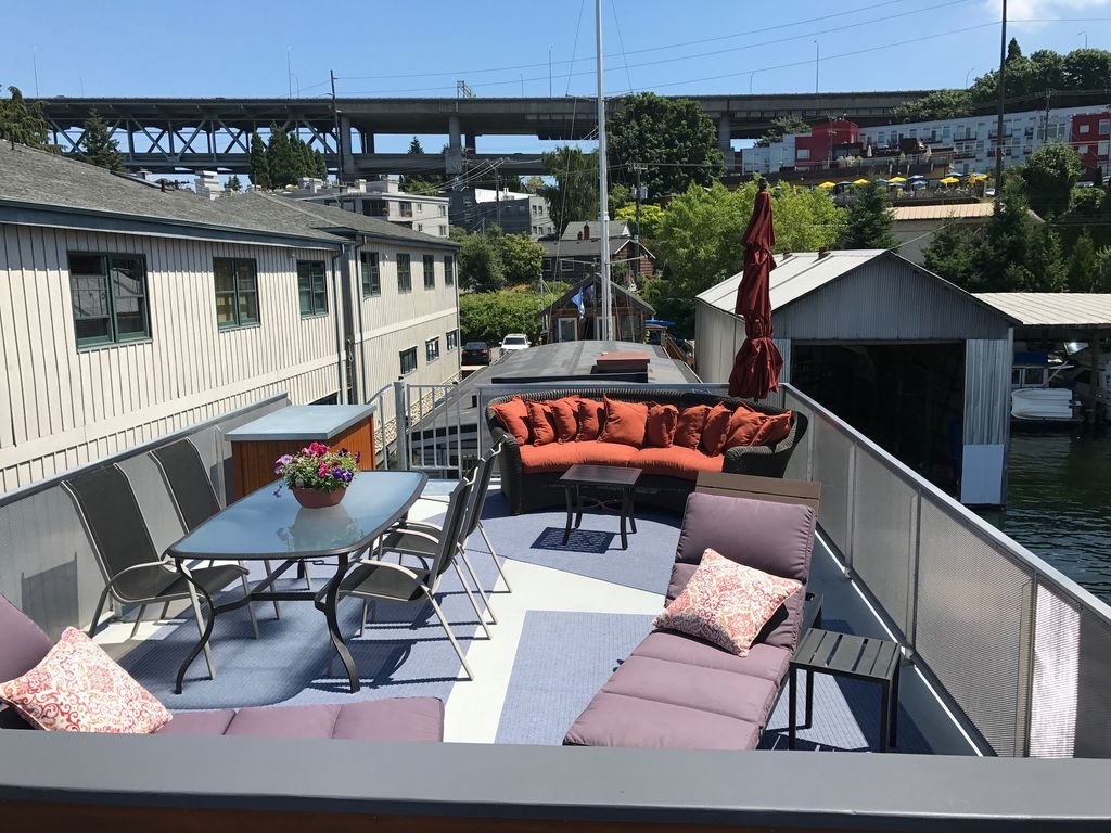 Chic Rooftop Deck