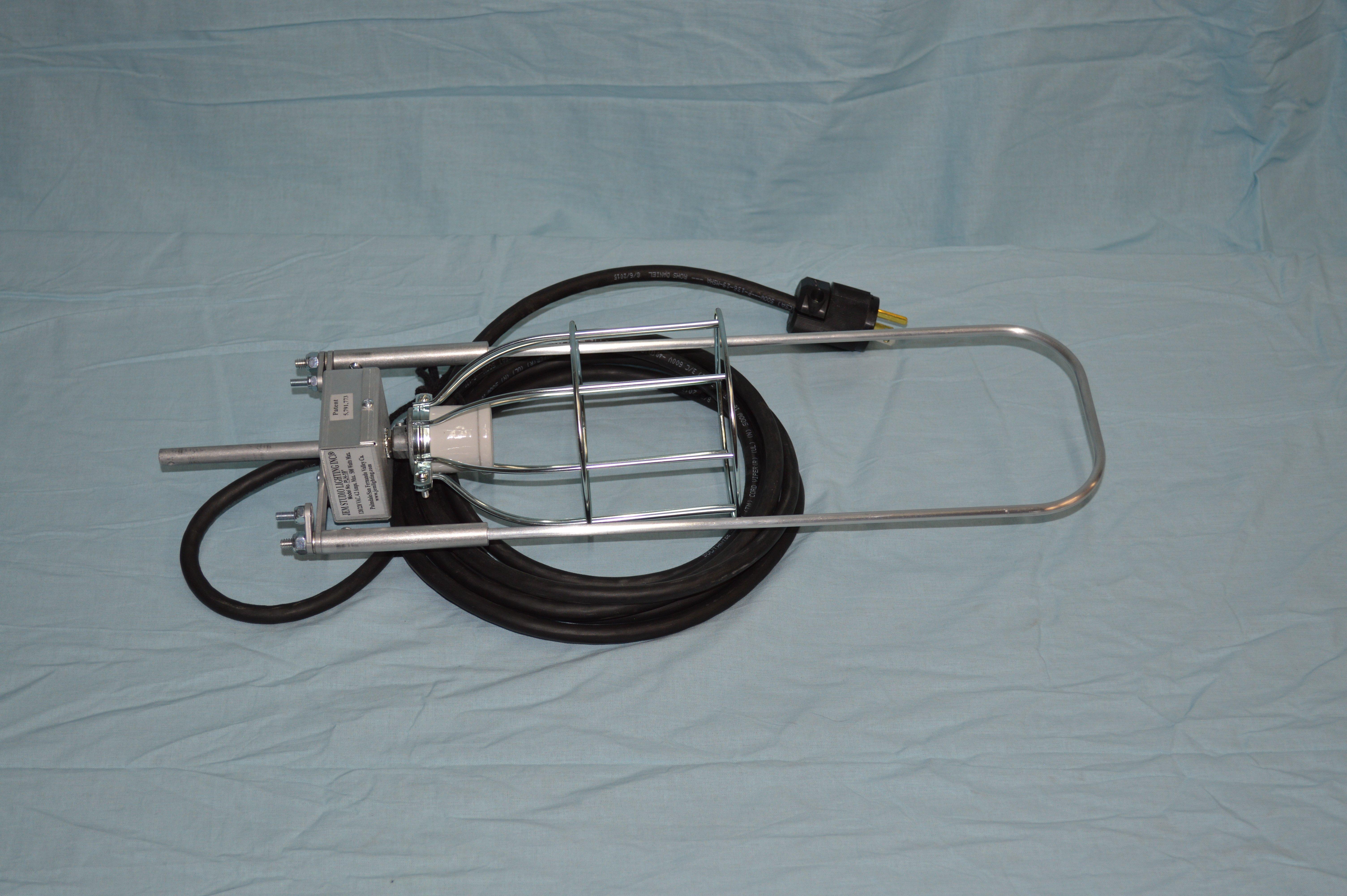 "19"" Paper Lantern Harp"