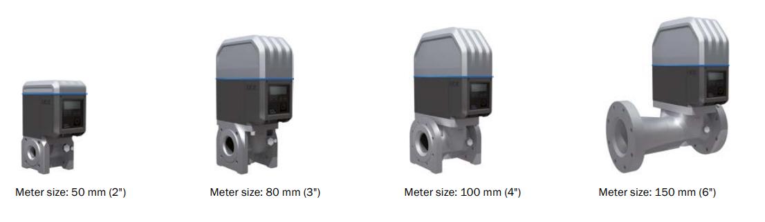 FS500 Meter Sizes