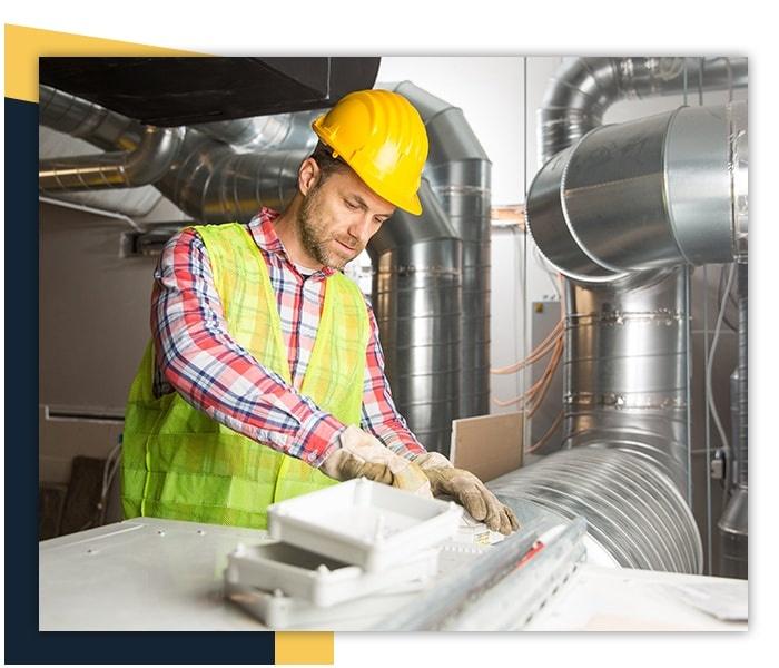 HVAC system Installing