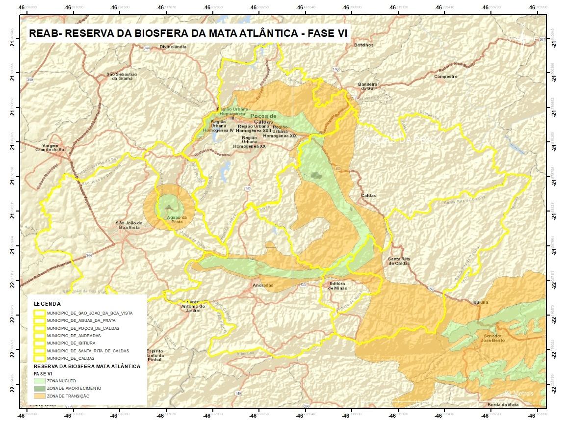 Reserva da Biosfera da Mata Atlântica - RBMA: Fase VI