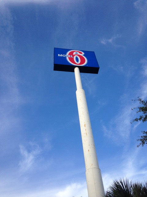 Highrise Pylon Sign