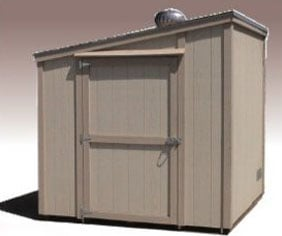 Single Slope Style Shed