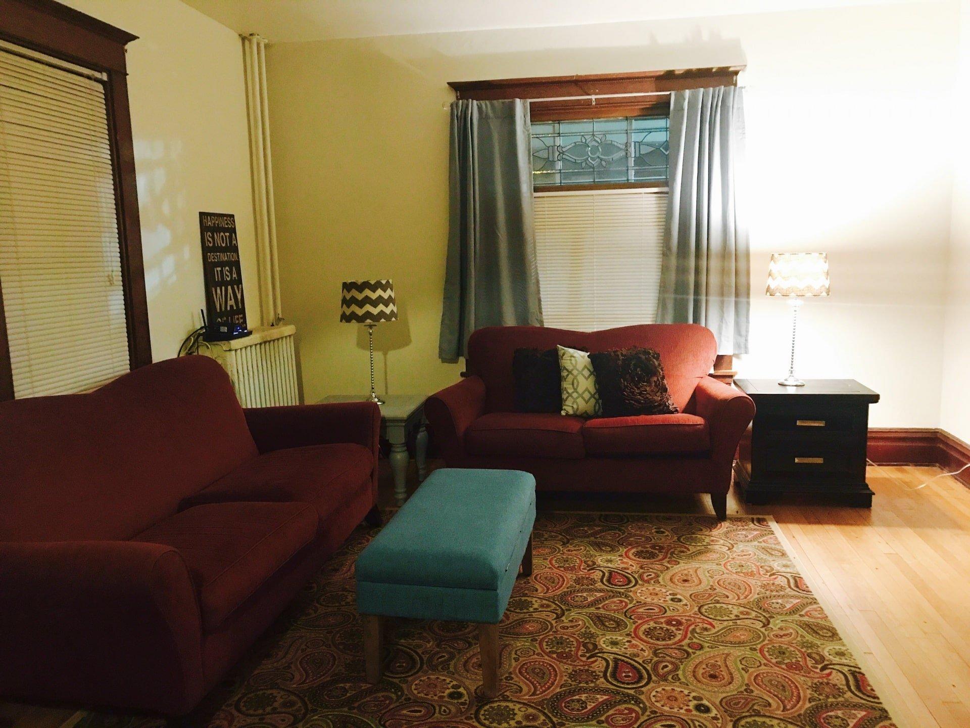 The Beech House Living Room