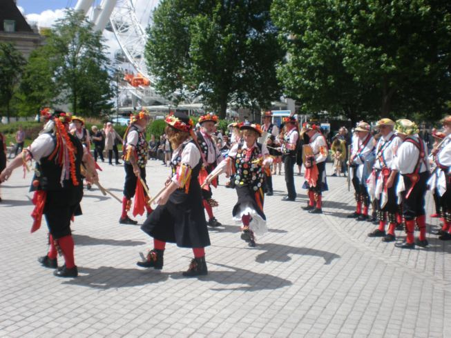 Phoenix Morris at the London Eye