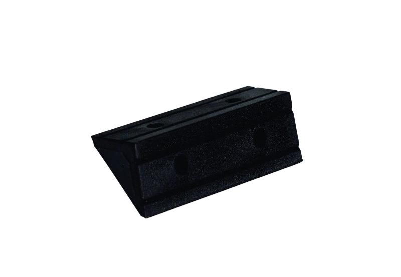ANG0001 Conector ESCUADRA Plastica 50mm Negra VARIOS DISEÑOS