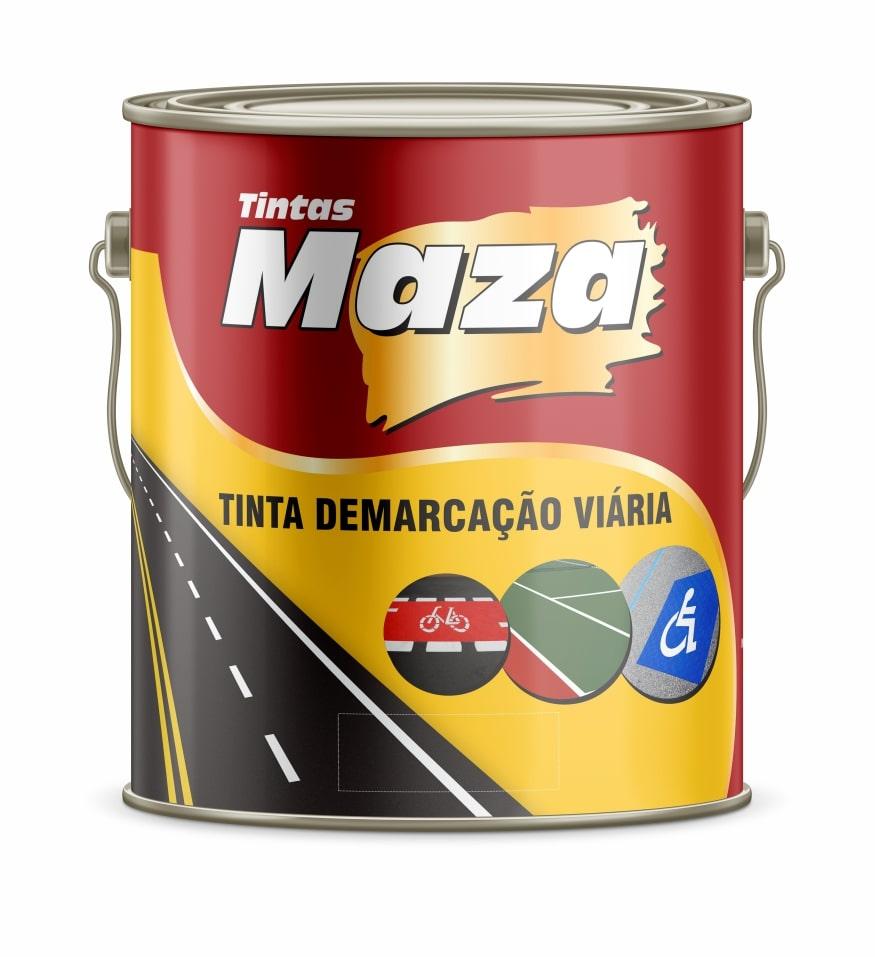 TINTA DEMARC VIÁRIA  DNIT MAZA AMARELO AZUL BRANCO