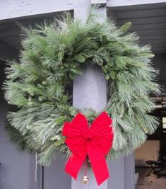 Fraser Fir and White Pine Wreath