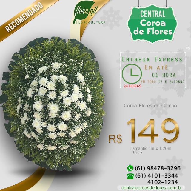 Coroa de Flores Brasília DF
