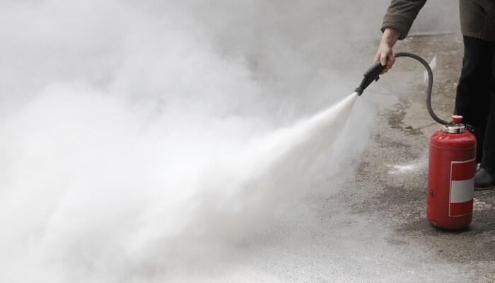 EXTINTORES ABC - Cursos de Capacitación contra Incendios