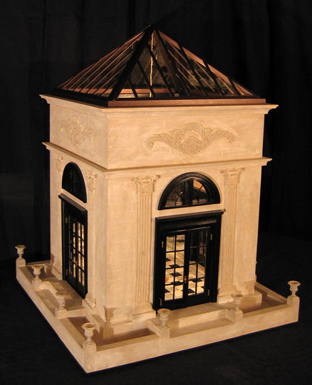 "Garden Pavilion 20"" square base x 25"" high"