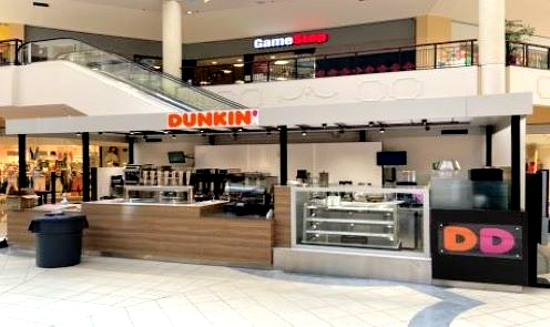 Dunkin Willow Grove Park Mall Willow Grove, PA