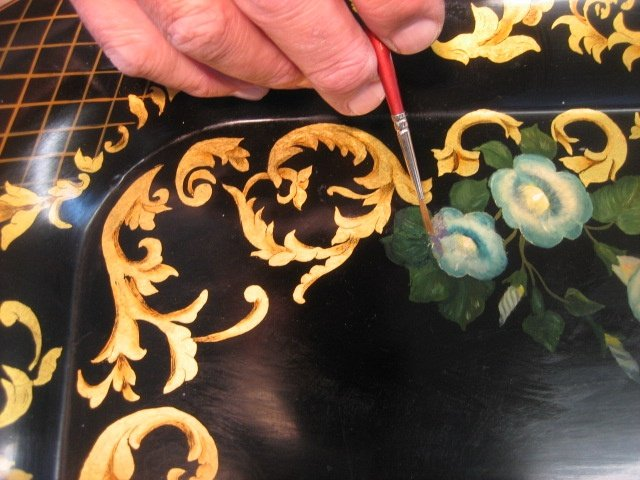 Lacquered Tray