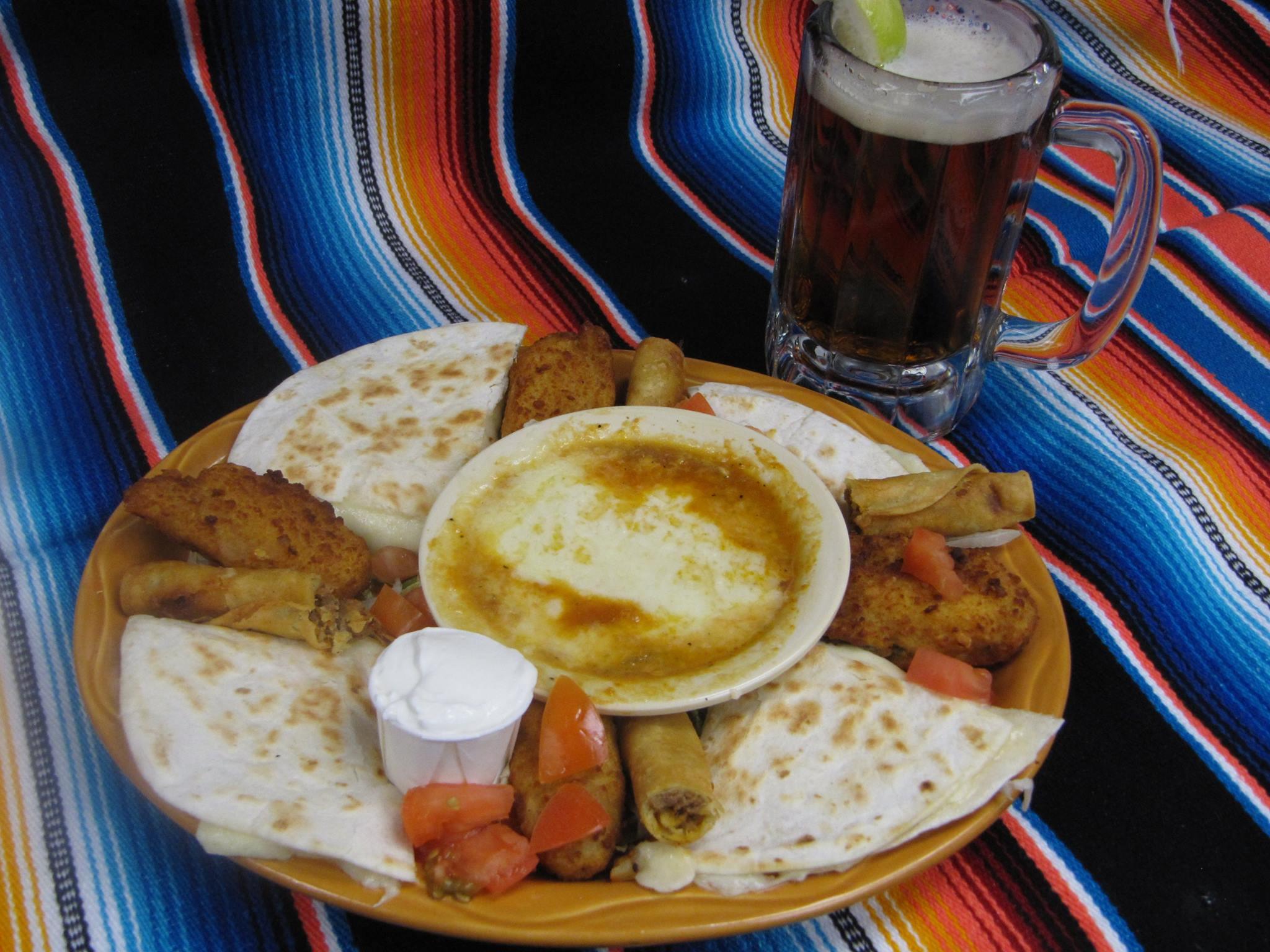 mexican sampler